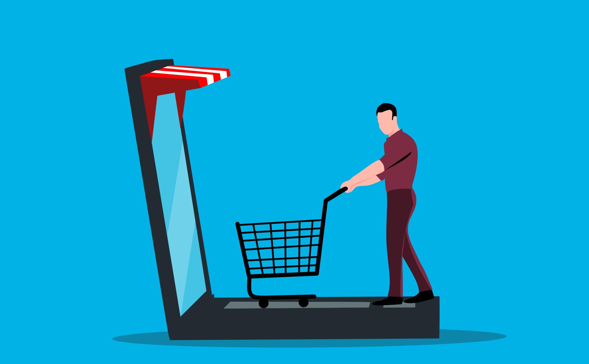 illustration of ecommerce